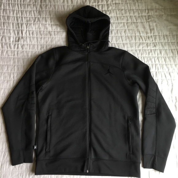 quite nice good good service Jordan flight Men's OD full zip Hoodie